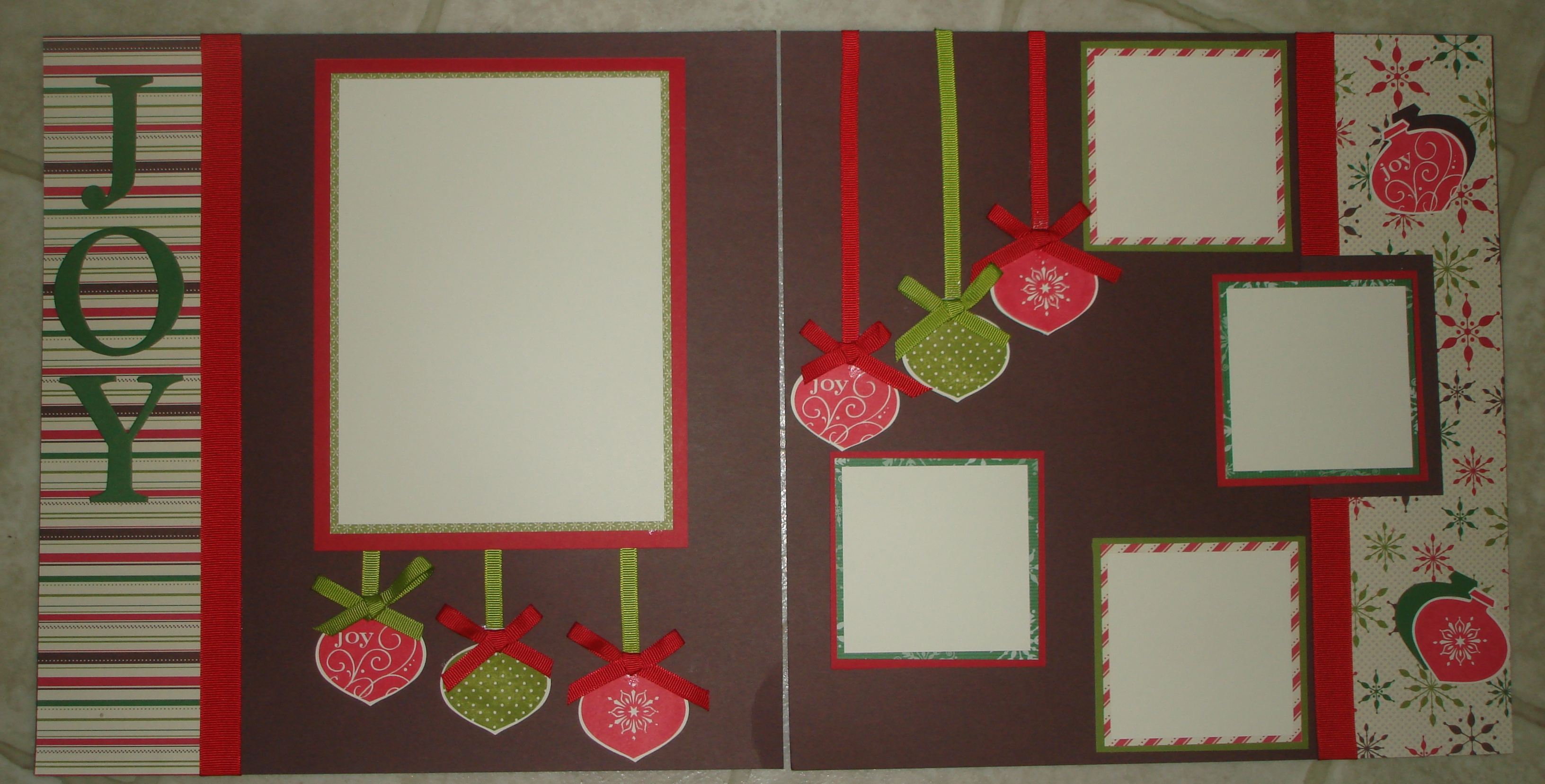 Stamperriffic: Scrapbook Pages